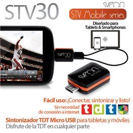 Sintonizador TDT Micro USB para tabletas y móviles Sveon STV30