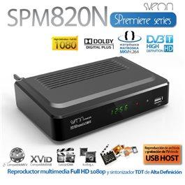 Nuevo Reproductor Multimedia y TDT HD Sveon SPM820N
