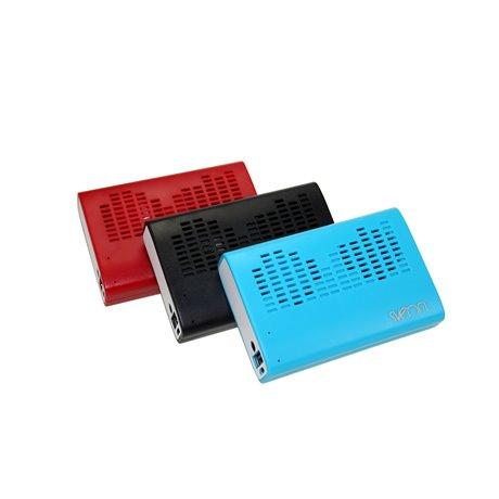 SAC310_01 ROJO BATERÍA EXTERNA DE 2600mAh con altavoces integrados
