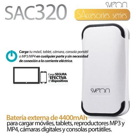 Batería externa de 4400mAh Sveon SAC320