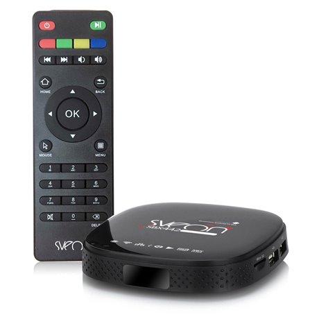 6e561c2965f91 Sveon SBX442 - Mini Android TV Box Quad Core compatible con Yomvi y Netflix