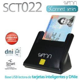 Lector de DNI electrónico &038 Smart Card Sveon SCT022