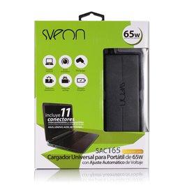 Sveon SAC165 - Cargador Universal para portátiles de 65W con ajuste automático de voltaje