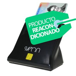 Sveon SCT022 - Lector de DNI Electrónico 3.0 compatible con Windows y MAC