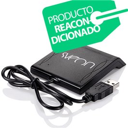 Sveon SCT022M REACONDICIONADO - Base Lector de DNIe y Tarjetas Inteligentes con conexión USB compatible con Windows y MAC