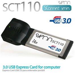 PCI Express Card 2 Ptos USB 3.0 SCT110