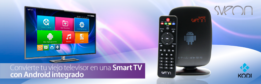 Sveon SSL4420 - Android TV Box
