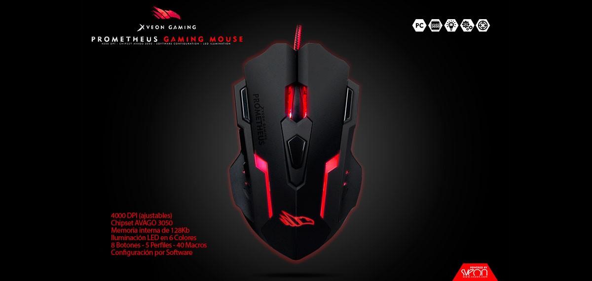 Prometheus Gaming Mouse Xveon Gaming